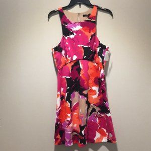NWT Trina Trina Turk fit flare dress
